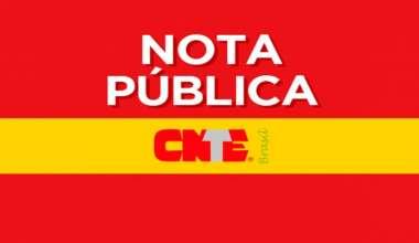 CNTE - A educação brasileira agoniza em meio a tanto descaso e inépcia!