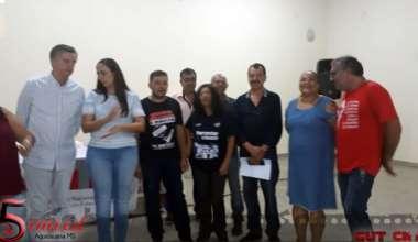 SIMTED AQUIDAUANA PARTICIPA DE AUDIÊNCIA PÚBLICA EM ANASTÁCIO